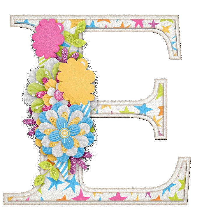 Alfabeto Letras May 250 Sculas Adornadas Con Flores