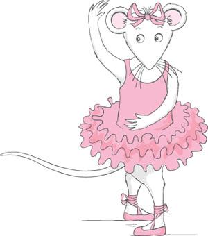 Angelina Ballerina Cute Imágenes para bajar Dibujos TAMAÑO XL ...
