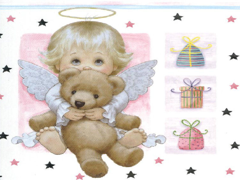 Angelitos Ruth Morehead Tarjetas Cards Illustration Genes