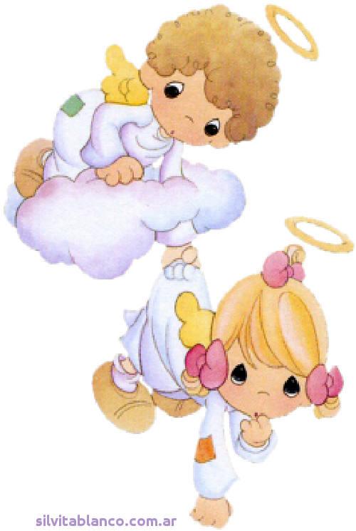 Imagen de angelito precious moments bautizo imagui
