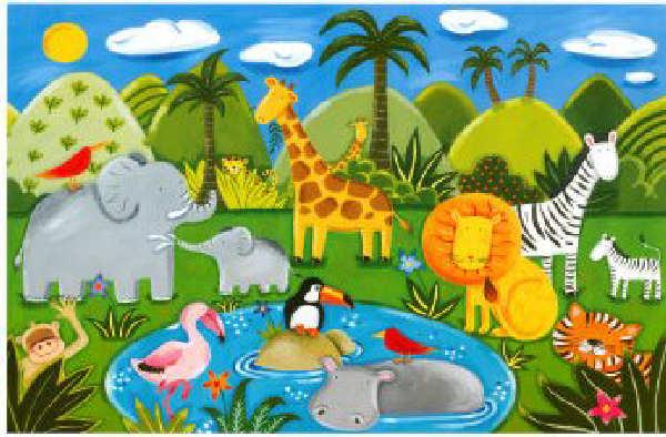 Zoo | Animales de Jungla | Animales de Selva | Música Bebés Niños ...
