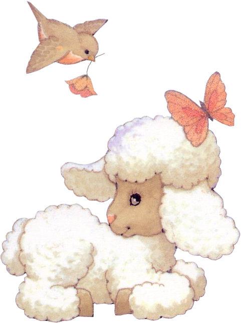 Dibujos tiernos de ovejas - Imagui
