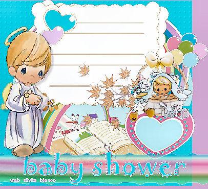 arjetas Postales para felicitar , para invitar BABY SHOWER