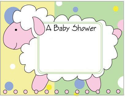tarjetas postales para felicitar para invitar baby shower