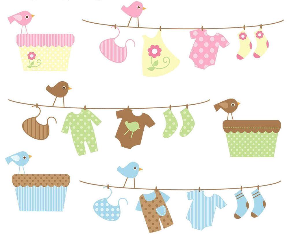 ilustraciones accesorios para dise o postales tarjetas baby shower