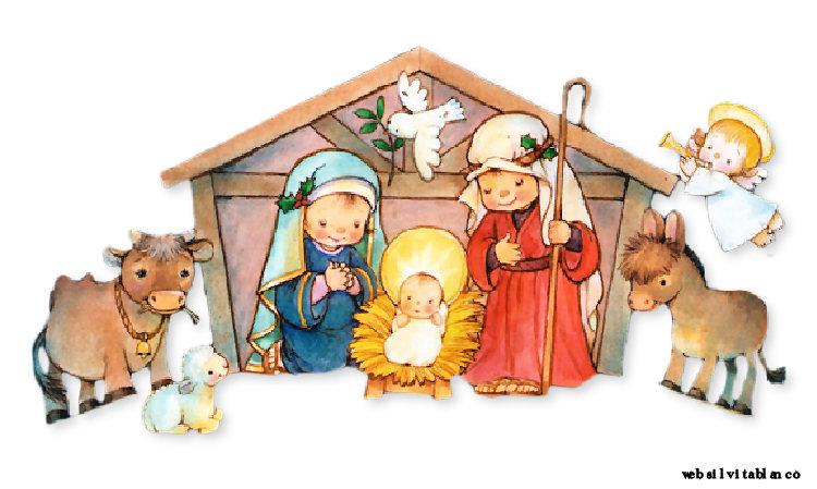 Pesebres bel n nacimiento de jes s cute im genes - Dibujos de nacimientos de navidad ...