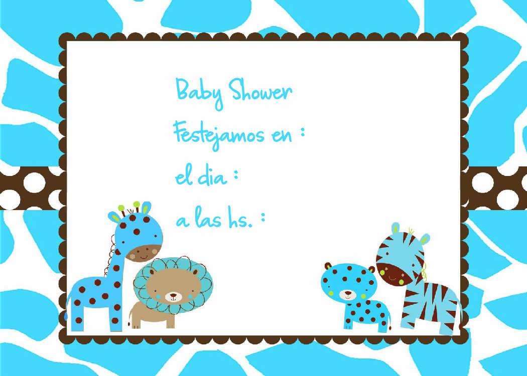 Souvenirs Para Baby Showers Para Varon ~ Invitaciones baby shower nena varón ideas para
