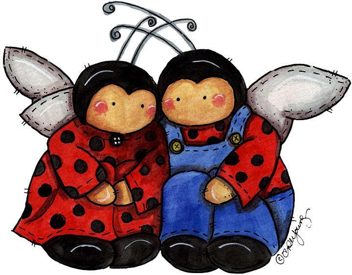 My Little House Silvita Blanco, Arte Lady bugs | Vaquitas de San ...