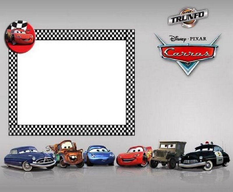 Cars Disney Tarjetas De Invitaci 243 N Cards Tama 241 O Xl