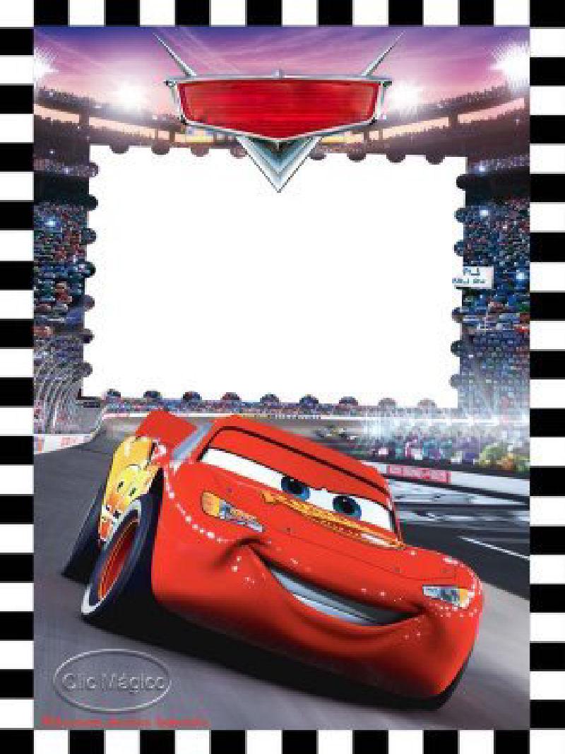 Invitaciones De Cars Disney