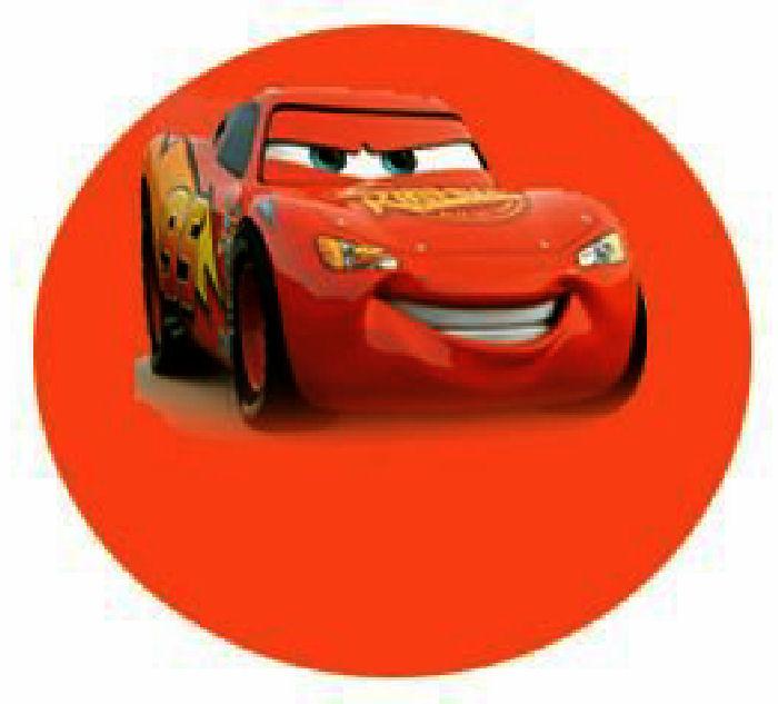 Cars Disney Invitaci�n Cumplea�os