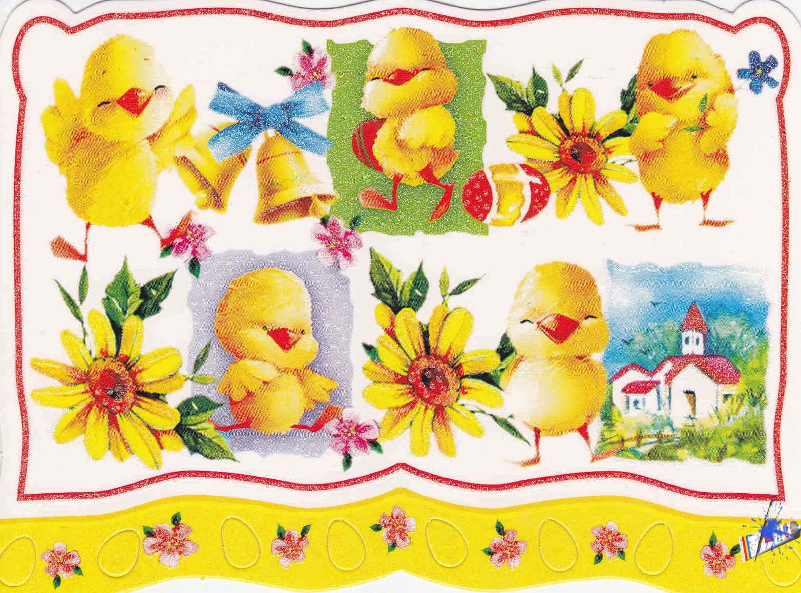 pollitos ilustraciones para manualidades