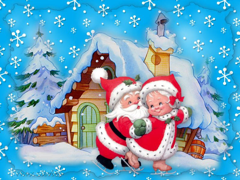 Santa Claus y Se�ora