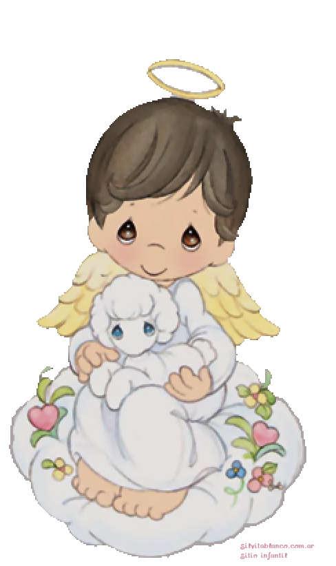 Angelito primera comunión Precious Moments - Imagui