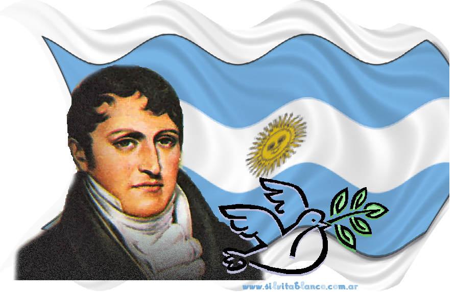 CANCIONES PATRIAS ARGENTINAS : Marcha Militar GENERAL BELGRANO autor