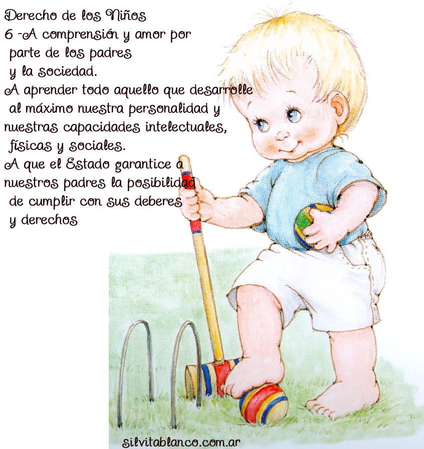 derechos del niño y la niña a la Comprensión y Amor