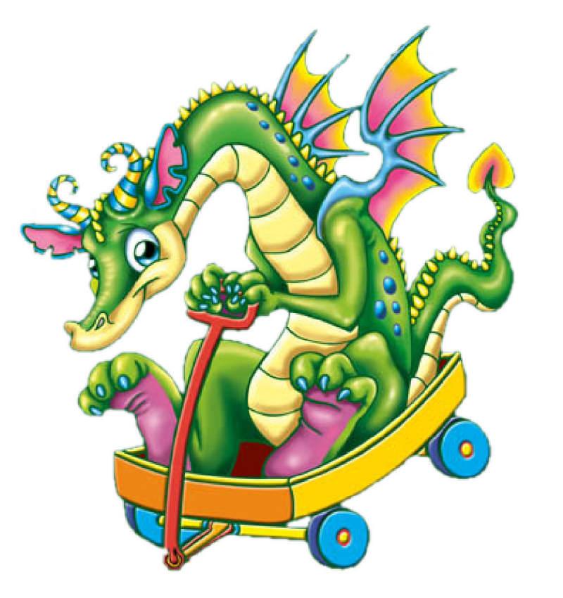 Открытки с изображением дракона