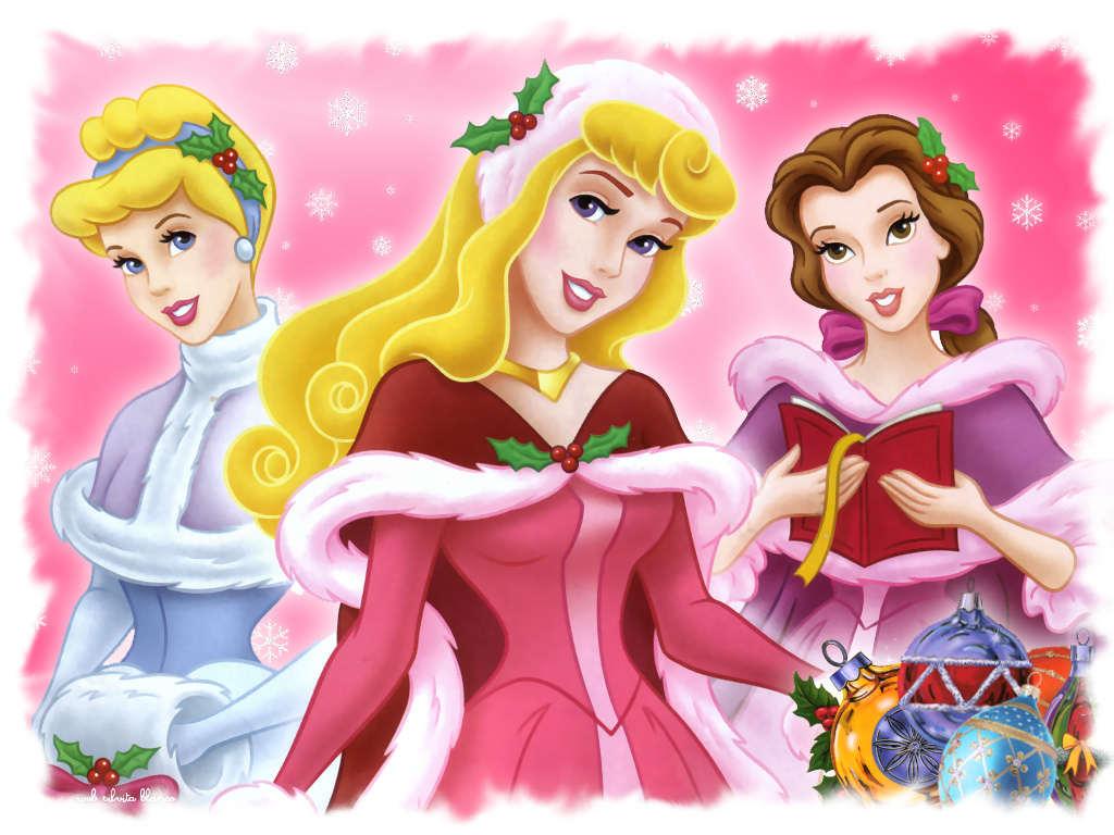 Princesas disney en navidad - Muebles de princesas disney ...