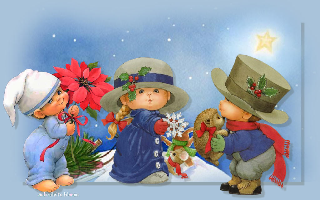 precious moments christmas wallpaper background - photo #14
