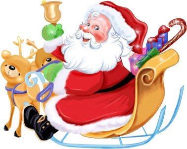 Imagenes De Papa Noel Animado.Papa Noel