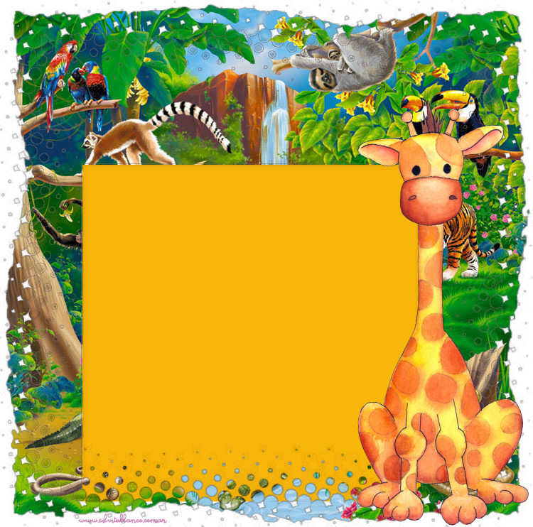 Party Jungla Cumpleaños Selva Ideas Manualidades Papeles Infantiles Sweet Papers