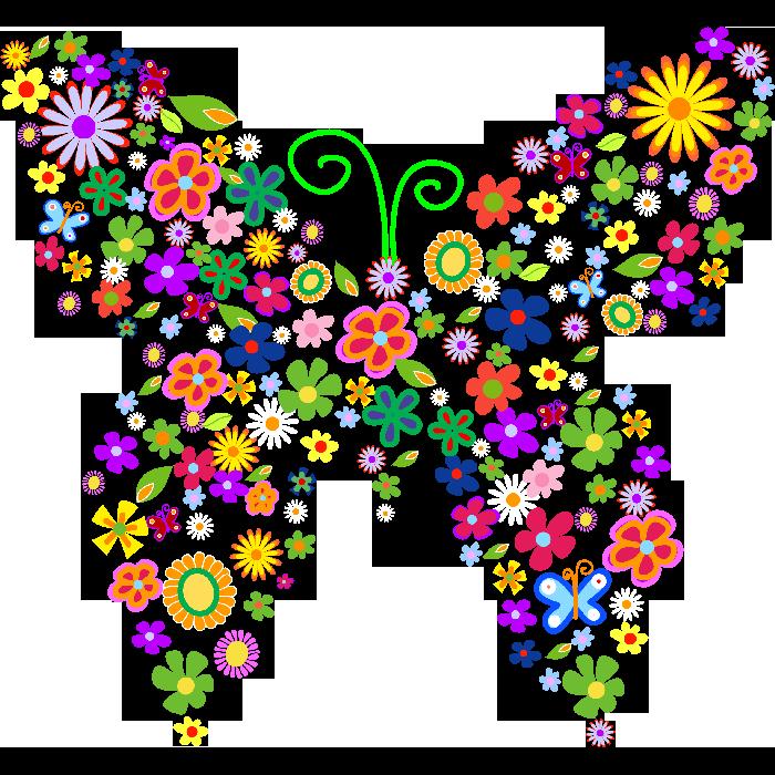 peques y pecas flores ilustraciones en png para