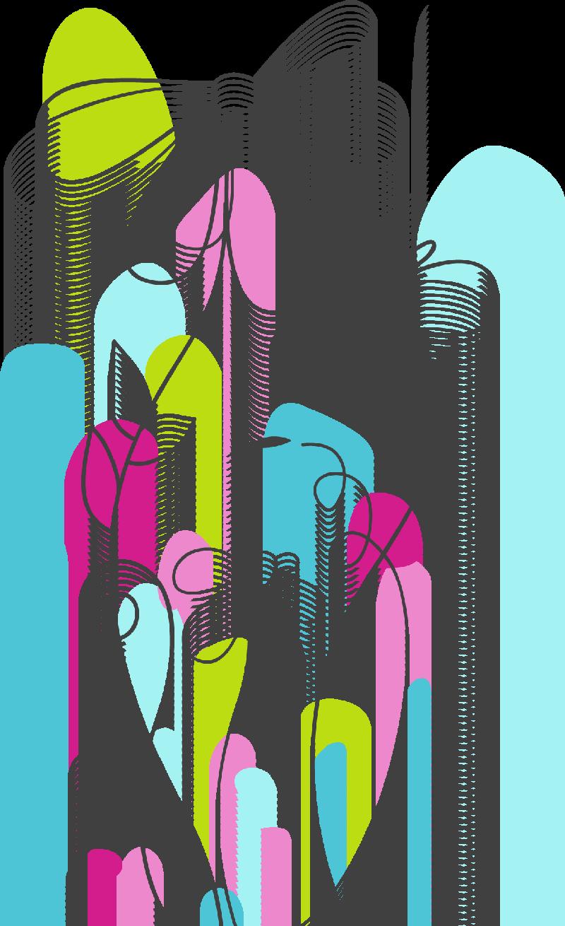 Flores ilustraciones en png para artesan a y dise os primavera for Disenos de cenefas