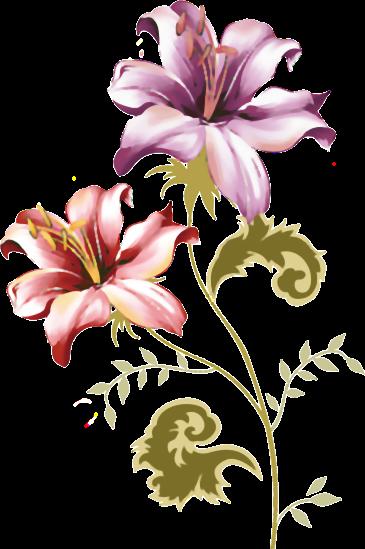 фото нарисованных цветов для художников