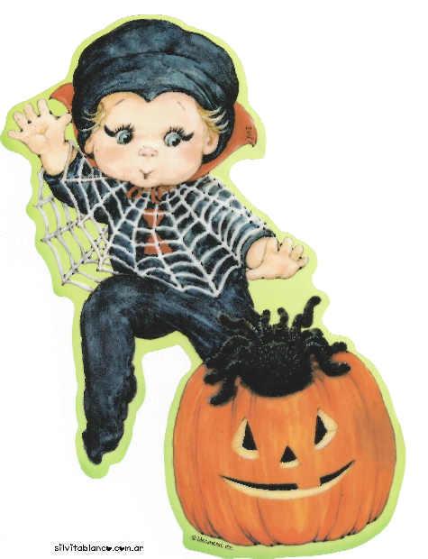 halloween ni�o disfrazado