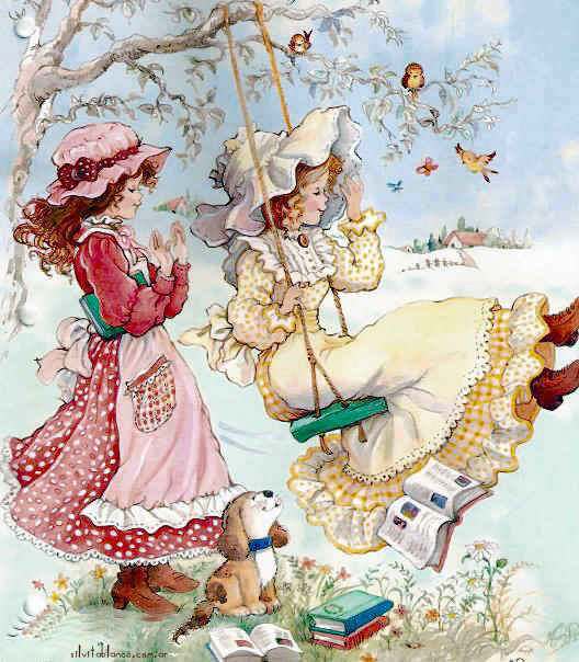 1000 Images About December Muppets Christmas On Pinterest: Holly Hobbie Ilustradora Vintage