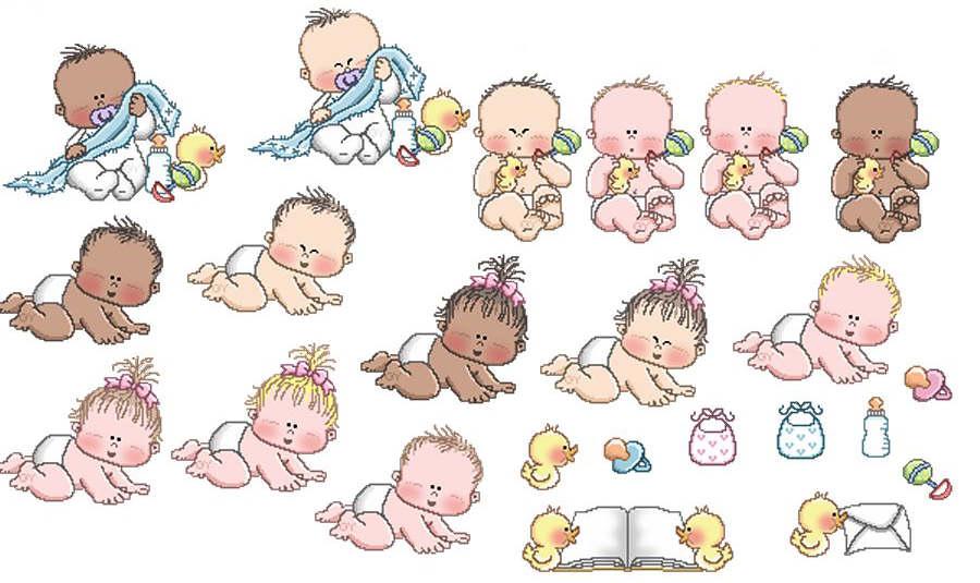 Imagenes De Nina Para Baby Shower