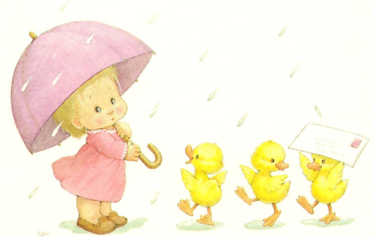 Dibujos De Bebitas Tiernas