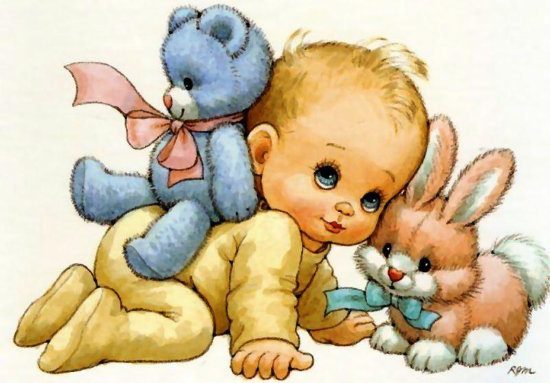 Dibujos bebes para bautizo imagui for Recien nacido dibujo