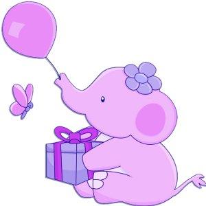 Feliz cumplea os beb s ni os - Fotos de elefantes bebes ...