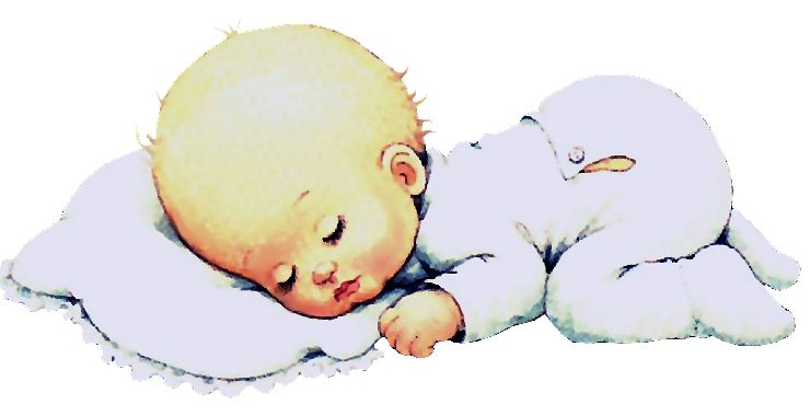 Dibujo de bebé durmiendo - Imagui