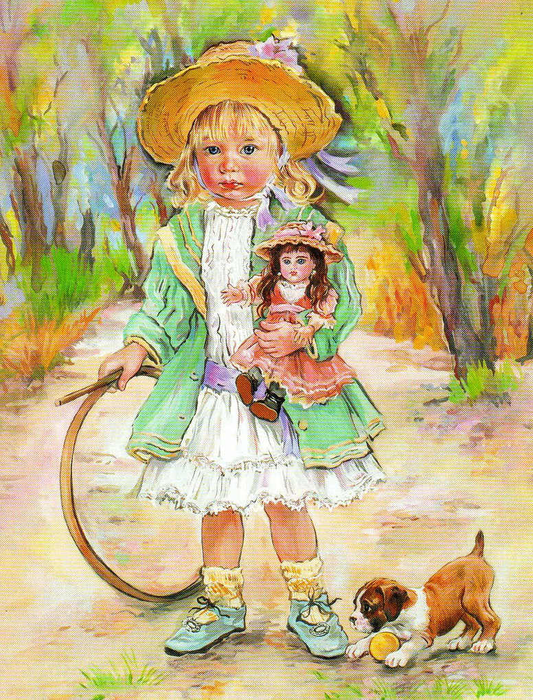 Christine haworth ilustraciones - Ilustraciones infantiles antiguas ...