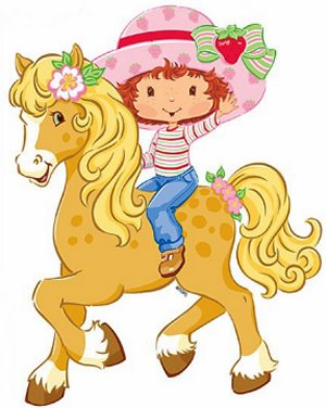 Calendario Frutillitas Strawberry Shortcake cute ilustraciones Tamaño