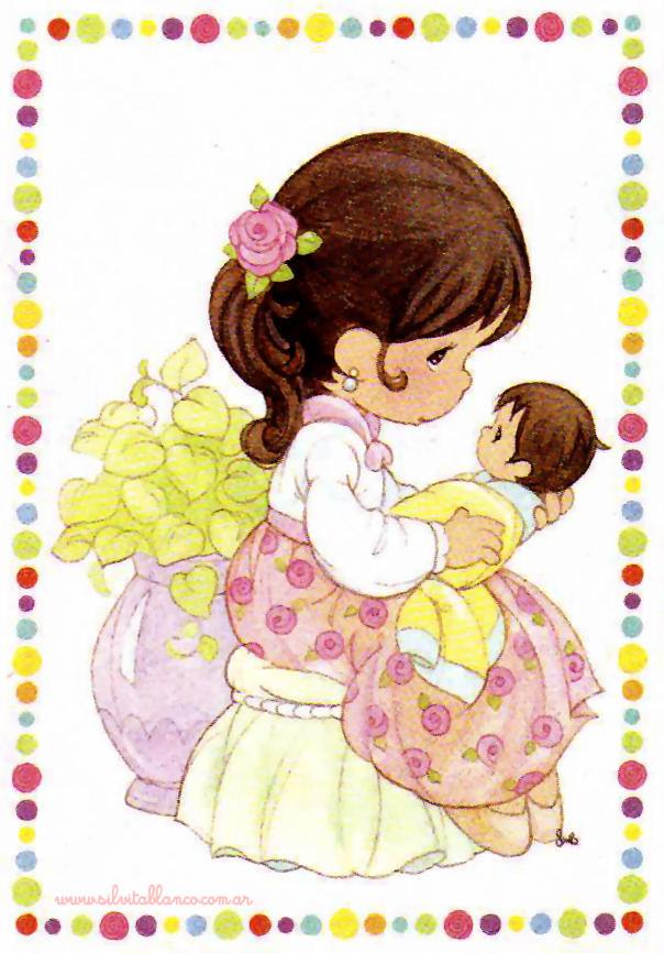 Mi Familia Precious Moments | Material para hacer tarjetas | Ideas ...
