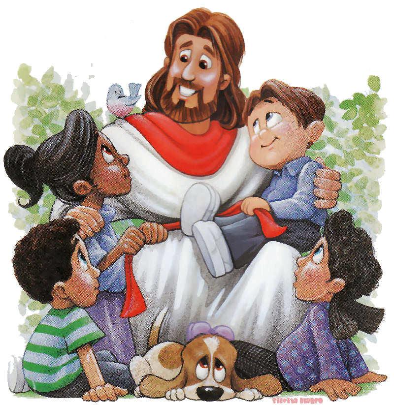 Bendición a los Niños   Jesús y los Niños
