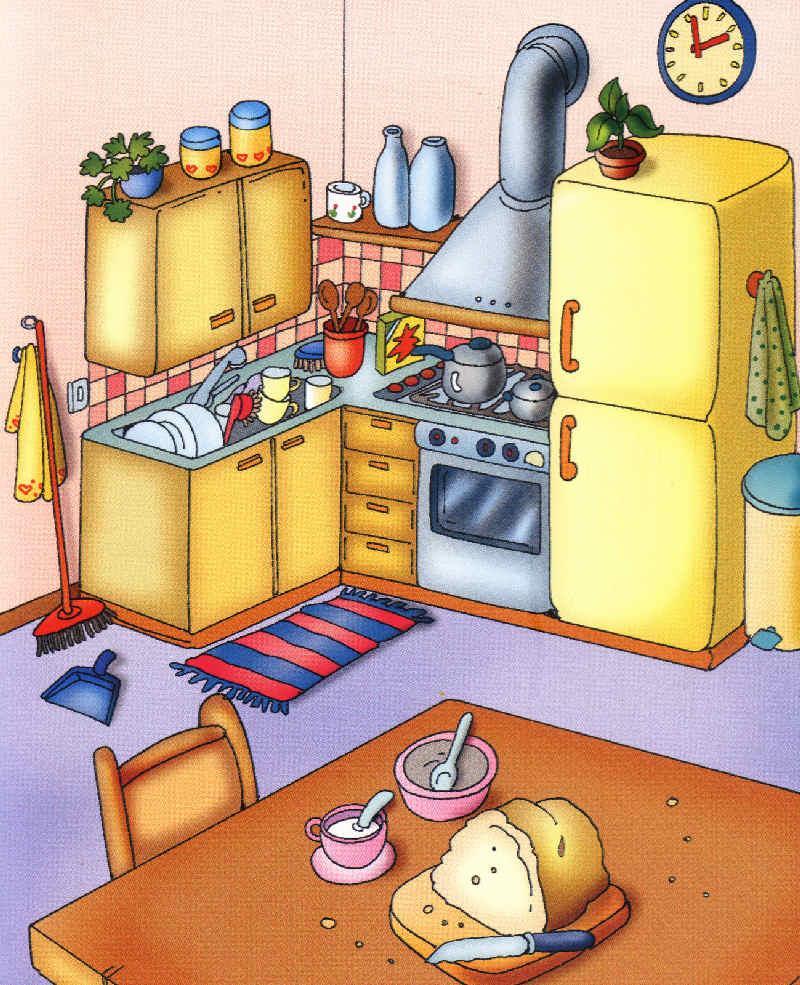 Cocina - Dormitorios de ninos ...