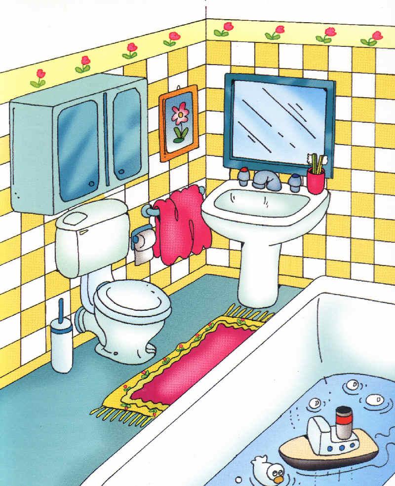 Caricaturas de casas imagui - Imagenes de cuartos de bano ...