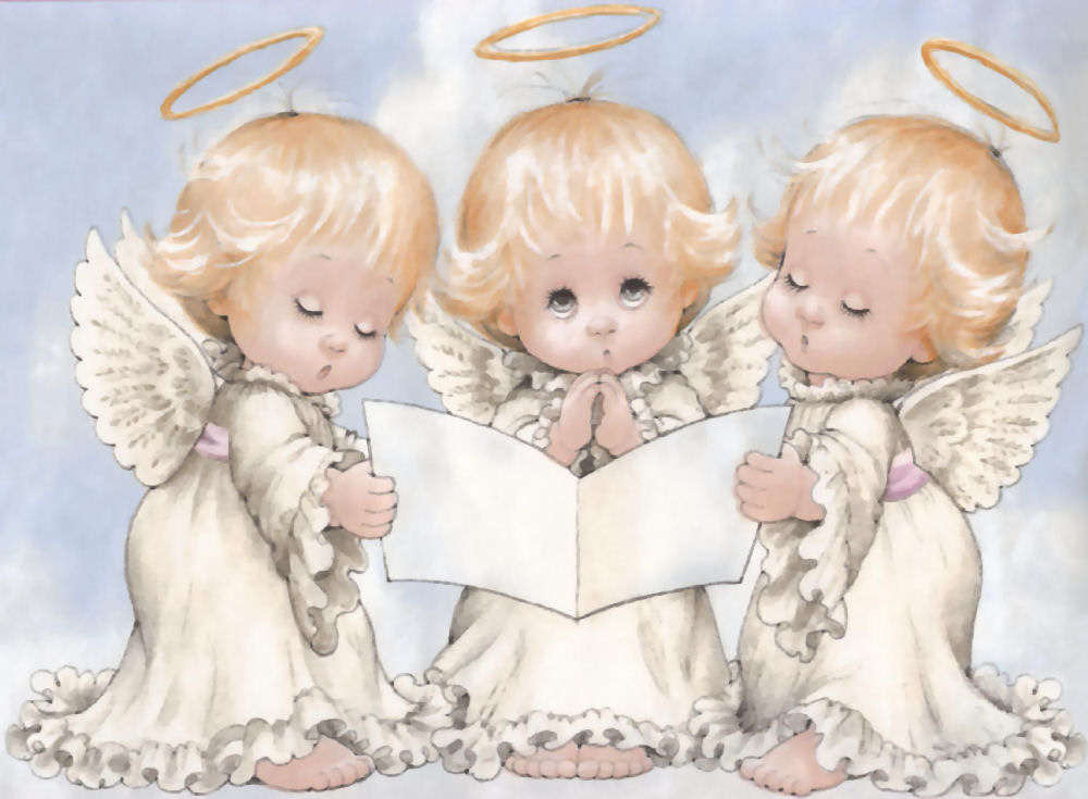 ANGELITOS Ilustraciones de Ruth Morehead