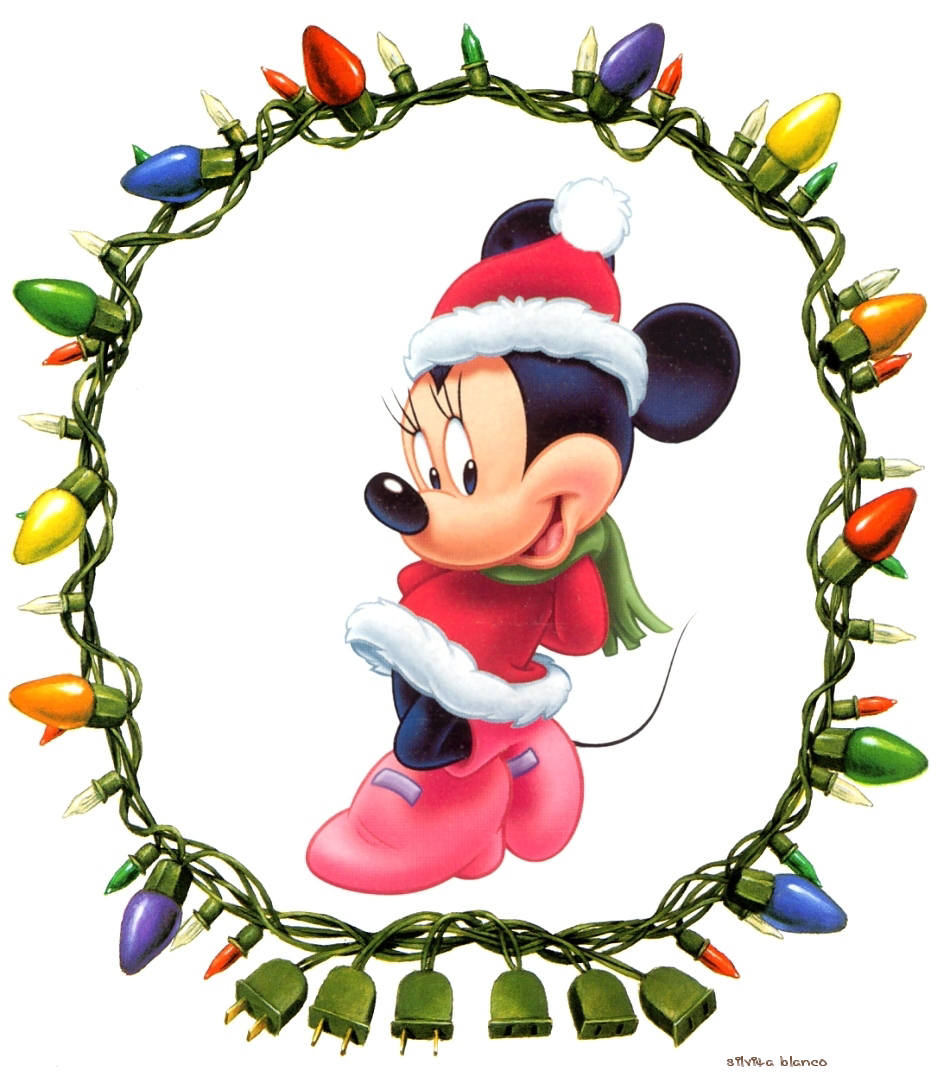 Pin minnie mouse navidad para colorear dibujos on pinterest - Minnie mouse noel ...