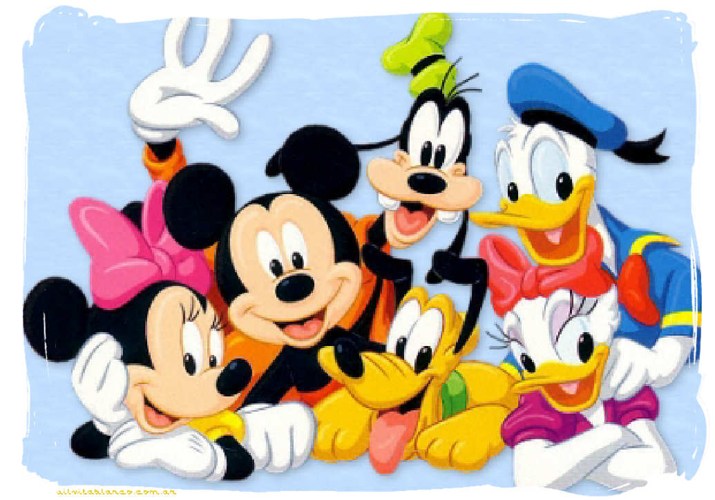Mickey Mouse and Friends Characters