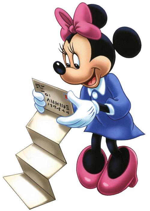 minnie mouse disney para realizar tarjetas feliz cumpleaos