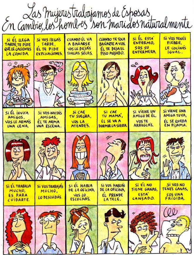 Mujeres humor de Maitena