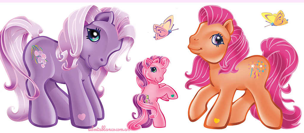 Mi Peque  O Pony   My Little Pony Ilustraci  N
