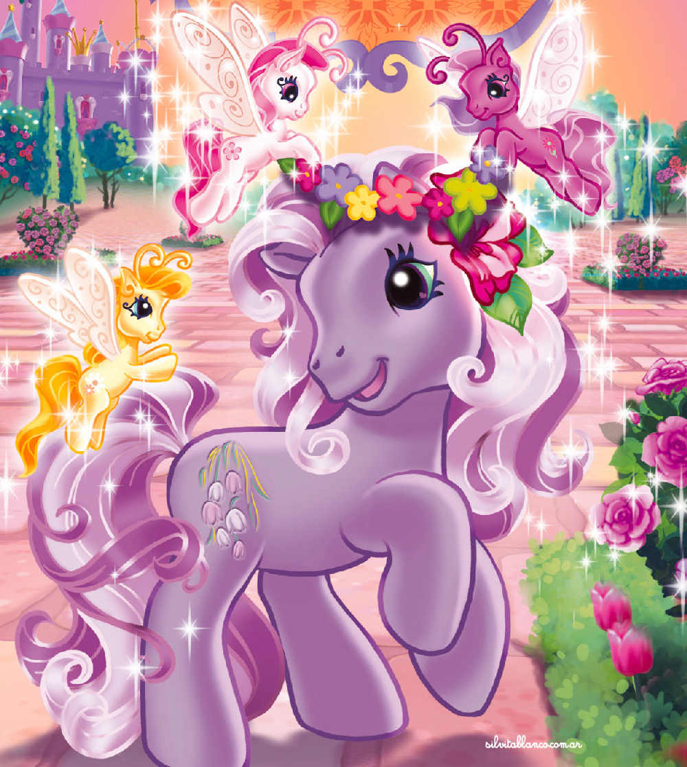 Mi Peque  O Pony   My Little Pony Ilustraci  N