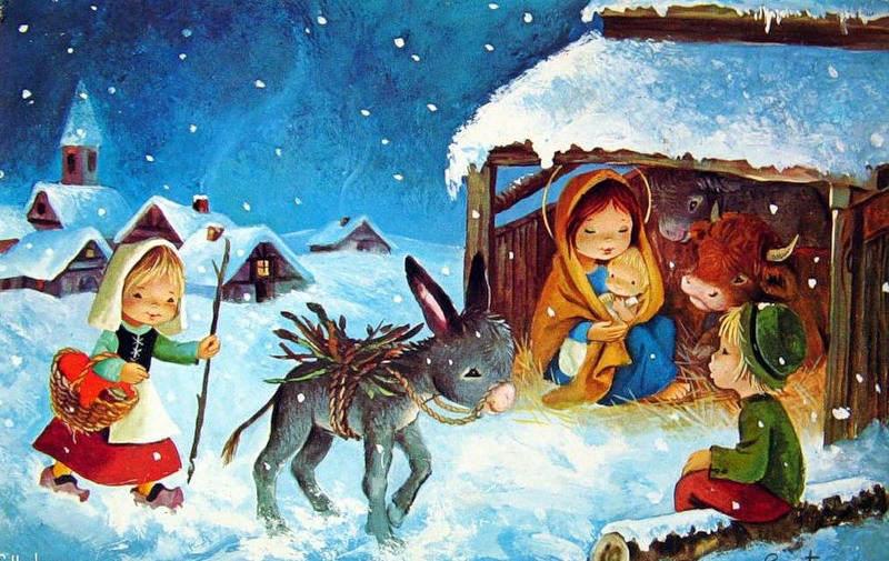 Constanza postales navidad - Dibujos de postales de navidad ...