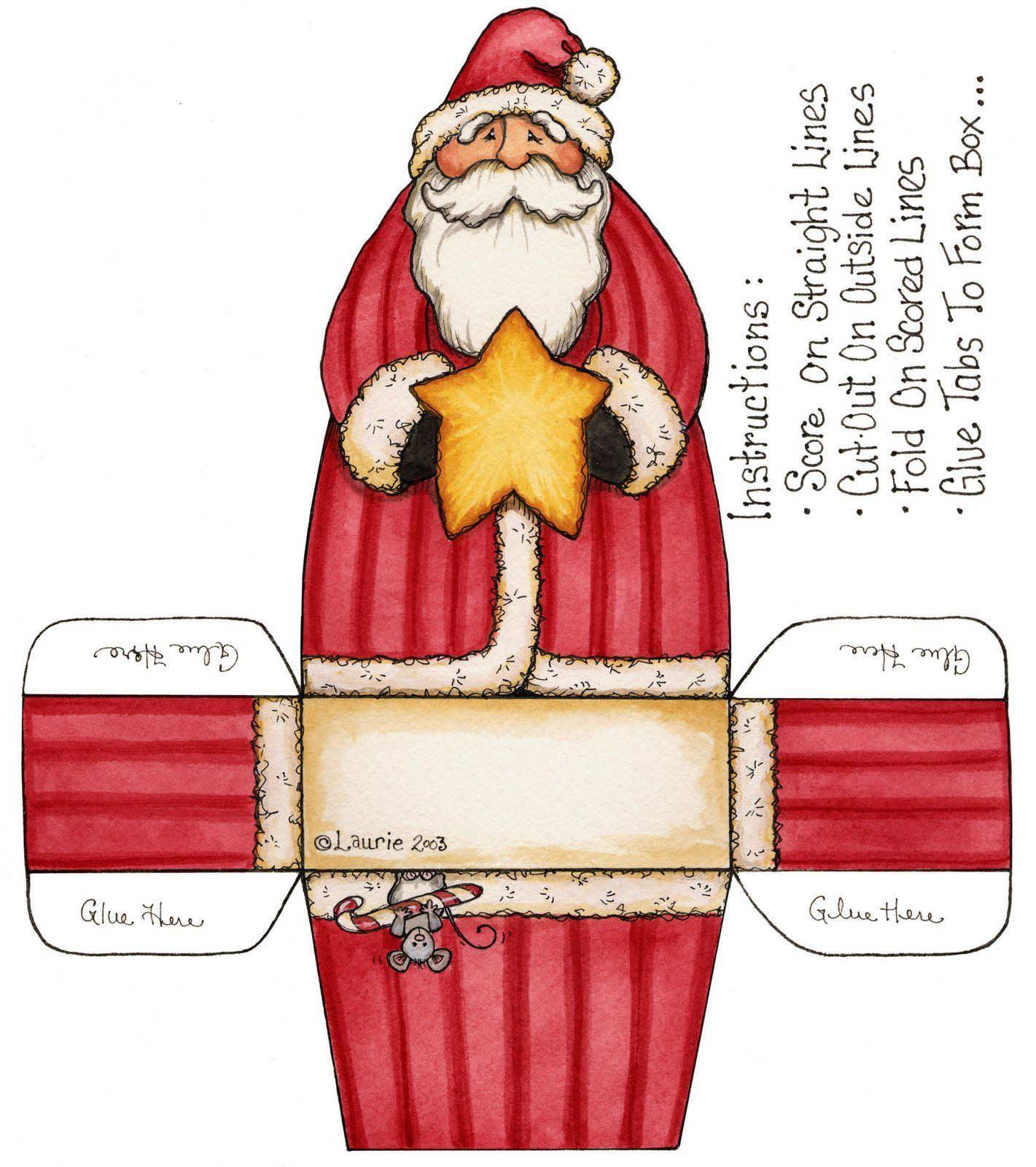 Navidad - Cajas de carton de navidad ...